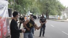 PBFI Kota Serang Budayakan Penggunaan Masker