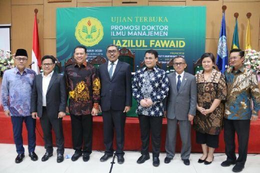 Di Promosi Doktor Jazilul Fawaid, Bamsoet Tantang Millenial