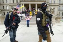 Ribuan Warga AS Protes Aturan di Rumah Saja, Sebagian Nenteng Senjata: Kami Ingin Kerja