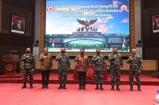 Ahmad Basarah Ajak TNI Bersatu Dengan Umat Islam dan Golongan Nasionalis Jaga Pancasila