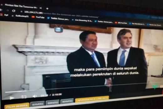 SBY Muncul di Film The Tomorrow War, Warganet: Kenapa Bukan Jokowi?