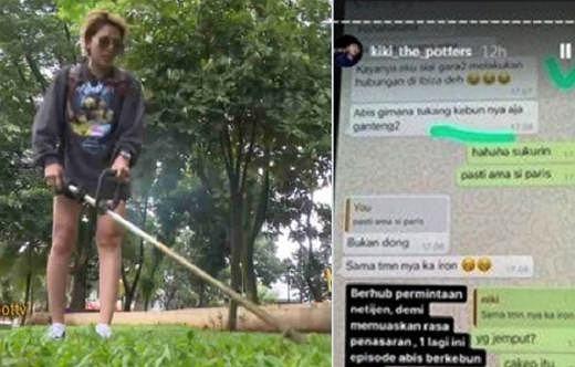 Dituding Berhubungan dengan Tukang Kebun, Nikita Mirzani: Emang Salahnya Dimana?