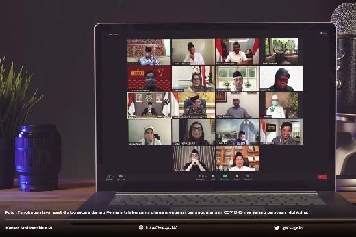 Cegah Klaster Idul Adha, KSP Jalin Dialog dengan 10 Tokoh Muslim