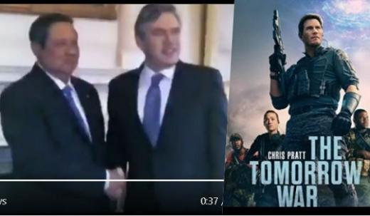 Ini Adegan SBY di Film The Tomorrow War, Berjabat Tangan dengan Pemimpin Dunia