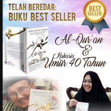 Resensi Buku Keajaiban Al-Quran dan Rahasia Umur 40 Tahun, Karya Erna Rasyid Taufan