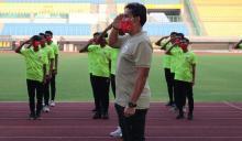 Timnas U 16 Indonesia Rayakan HUT Kemerdekaan RI ke-75