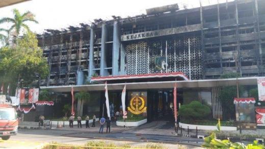 Kesimpulan Sementara dari Polri, Gedung Kejaksaan Agung Sengaja Dibakar