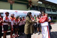Tim Jelajah Sepeda Nusantara Berakhir di Yogyakarta