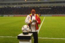 Pembagian Bola Warnai Pembukaan Kejuaraan Sepakbola Pelajar Asia 2019