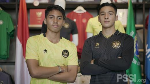 Jersey Ketiga Timnas Indonesia Diluncurkan