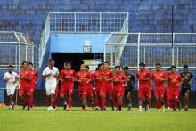 Kuncoro Ingatkan Pemain Arema FC Soal Kondisi Fisik