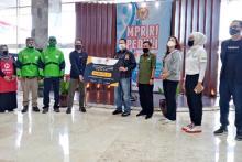 Berbagi Rp 800an Juta dengan Mitra Gojek, MPR Menginspirasi Implementasi Pancasila