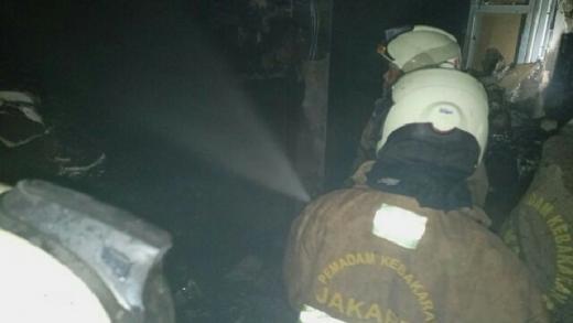 17 Mobil Damkar Diterjunkan, Kebakaran di Kantor BPOM Jakpus Akhirnya Padam