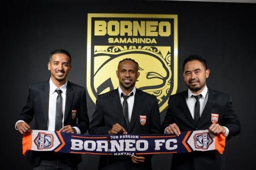 Borneo FC Kontrak Boaz Dua Musim