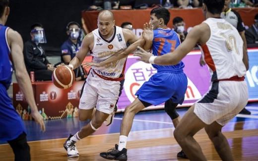 Perjalanan Timnas Basket Indonesia Cukup Berat di FIBA Asia Cup 2021