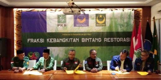 PKB, NasDem dan PBB Bentuk Fraksi Gabungan di DPRD Bogor