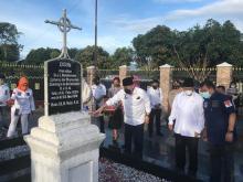 Kunjungi Makam Nommensen dan Sisingamangaraja XII, LaNyalla Ingin Teladani Semangat Pahlawan