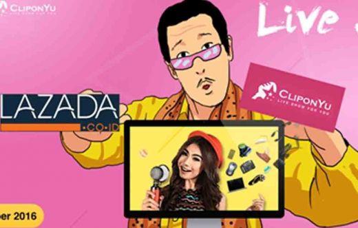 Live Shopping akan Geser Online Shopping, CliponYu Lanjutkan Kolaborasi dengan Lazada