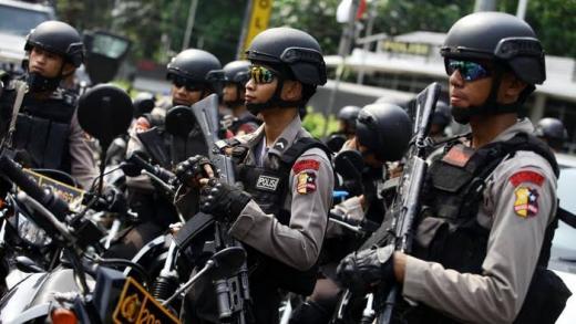 Jelang Aksi 1812, Aparat Gabungan Jaga Perbatasan Jakarta