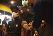 Pemain Persib Bandung Jalani Vaksin Covid 19