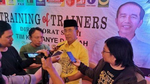 Ketua TKD Syamsul Bachri Akui Jokowi-Maruf Kalah di Sulawesi Selatan