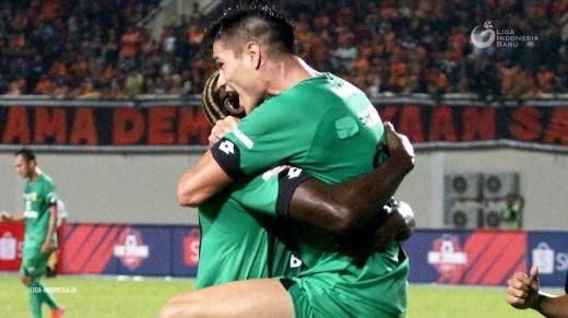Kebahagiaan Ramiro Cetak Gol Perdana Buat Bhayangkara FC