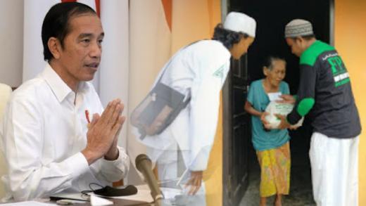 Jokowi Mengaku Senang Banyak Ormas Islam Ikut Bantu Pemerintah Tangani Covid-19