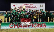 Bantai Cina Taipei 11-0, Timnas Indonesia U-16 Juara di Vietnam