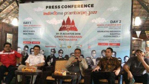 Rick Price Sensasi Baru di Indihome Prambanan Jazz 2016