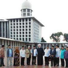 Ajak Kerjasama Dibidang Pendidikan, Dakwah dan Kebudayaan, Liga Universitas Dunia Sambangi Istiqlal