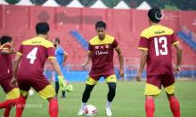 Pemain Persik Kediri Digenjot Latihan Fisik