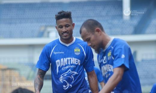 Pelatih Persib Bandung Tak Khawatir Kondisi Wander Luiz