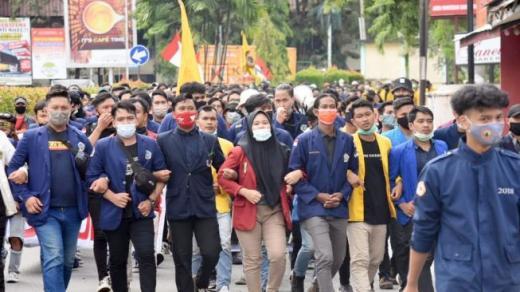 Demo Besar- besaran Satu Tahun Jokowi, 5 Ribu Mahasiswa Kepung Istana Besok