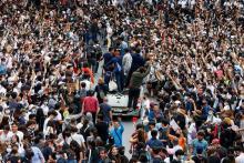 Meski Dilarang Pemerintah, Demo Besar-besaran di Thailand Terus Berlanjut