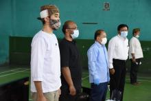 Pertahankan Budaya Angklung, Syarief Hasan: Harus Tekun, Sabar dan Berani Berkorban