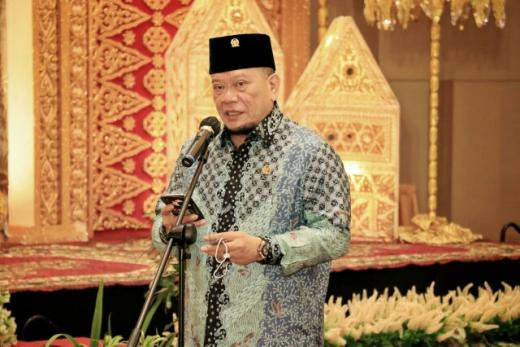 Orasi di UNP, Ketua DPD Singgung Peran Tokoh Sumbar Pertahankan Kemerdekaan RI