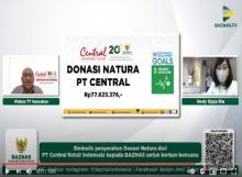 Central Department Store Gandeng BAZNAS Salurkan Donasi Natura