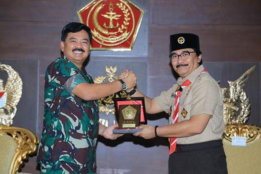Marsekal Hadi Tjahjanto: Pramuka Mitra TNI