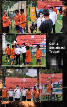 Keceriaan Atlet Difable Tangerang Memainkan Teqball