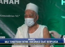 MUI Rekomendasikan Vaksinasi terhadap Muslim yang Berpuasa Dilakukan Malam Hari