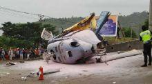 Angkut 8 Penumpang, Pesawat Jenis Rotary Wing PK-WSX Jatuh di Kendari