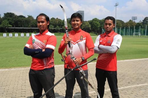 Timnas Panahan Putra Indonesia Rebut Perak Dan Amankan Tiket Recurve Beregu