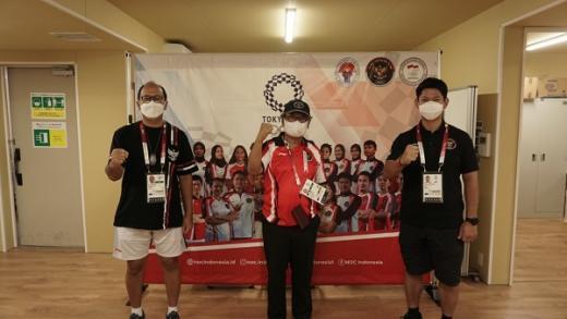 Duta Besar Heri Akhmadi Kunjungi Kontingen Indonesia