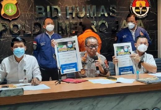 Aksi Tipu-tipu Modus Situs Bansos PPKM Palsu Berakhir di Balik Jeruji