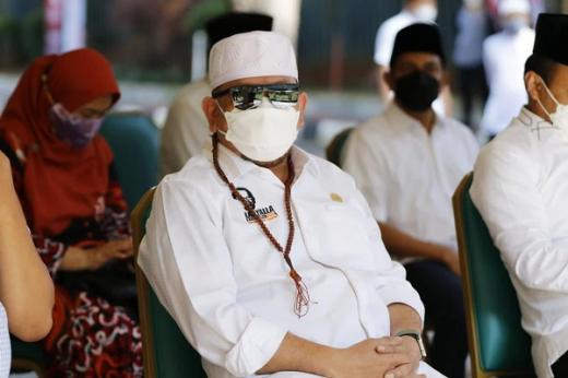 Ketua DPD RI Ajak Kelompok Pemuda Bantu Program Dapur Umum PPKM Darurat