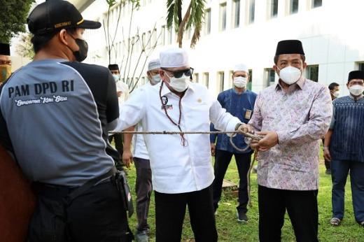 Potong 2 Ekor Sapi, Sekjen DPD RI: Momentum Berbagi di Tengah Pandemi