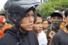 Demo Tolak Ciptaker, Anak STM: Semua Rakyat Berhak Memberikan Pendapatnya Masing-Masing