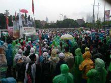 Tuntut Penjarakan Ahok, Massa Aksi 212 Desak DPR/MPR Tegas ke Jokowi