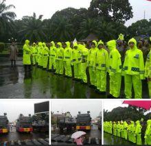 Aksi 212 Diguyur Hujan, Ini Pengamanan dan Kondisi Arus Lalu Lintas Sekitar Gedung DPR