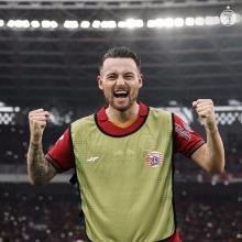 Mark Anthony Klok Bidik Pemain Terbaik di Piala Menpora 2021